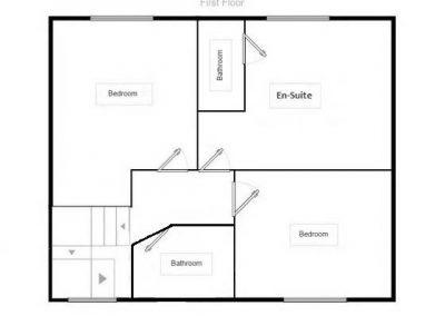 First Floor - Doncaster Warren House - Floor Plan
