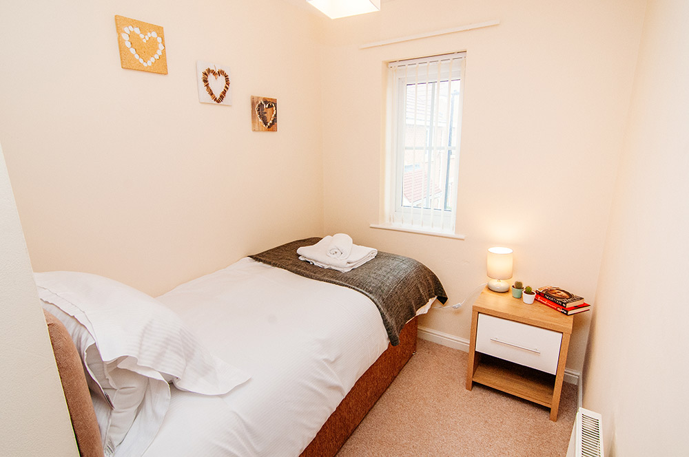 Harris House - Bedroom