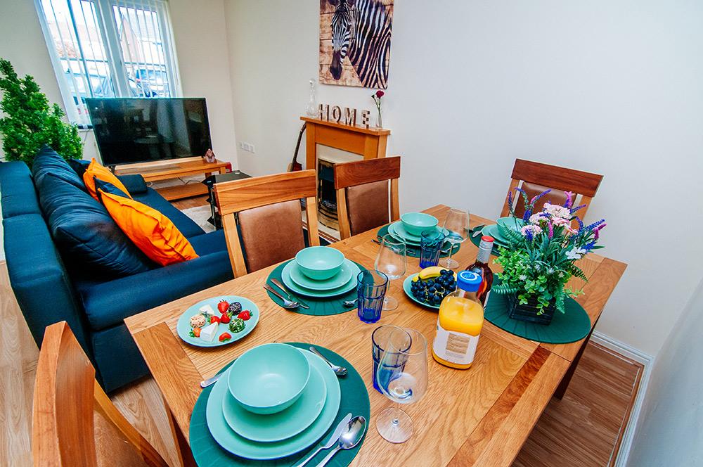 Harris House - Livingroom