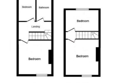 Nottingham Waterloo Floor Plan - 1 & 2
